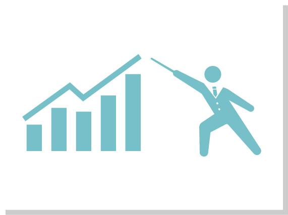 3.徹底した費⽤対効果追求